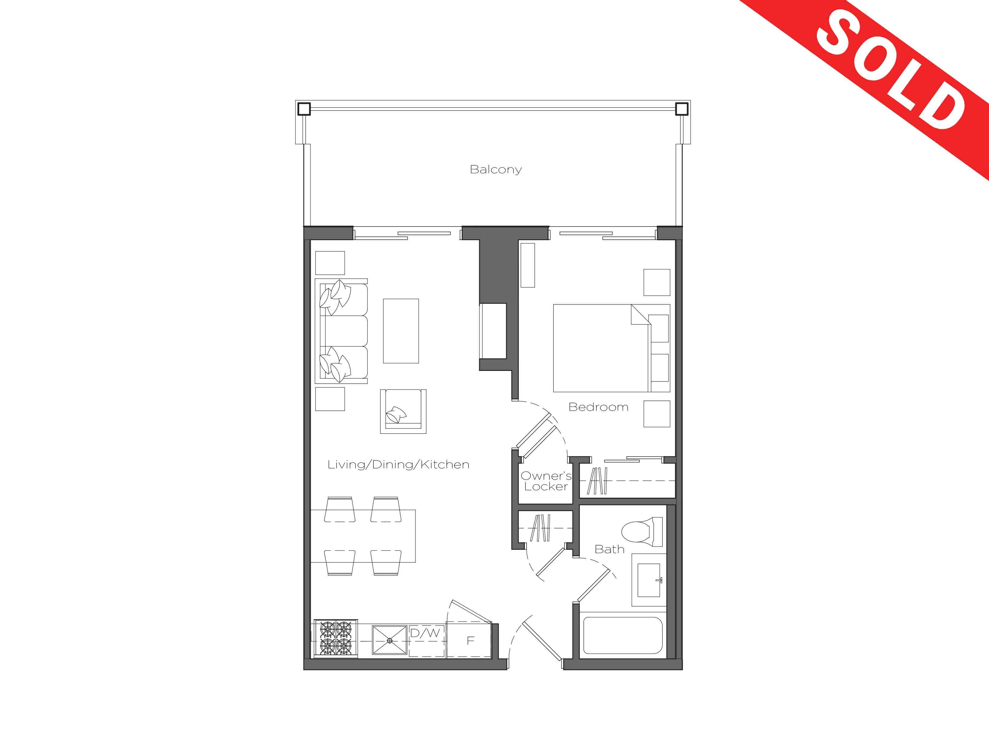 The Spring Field 547 Sq Ft Lakeside Lodge At Deerhurst Resort Schematic